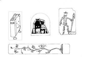 Book sleighing wheeeee GIF animation by RetSamys on DeviantArt