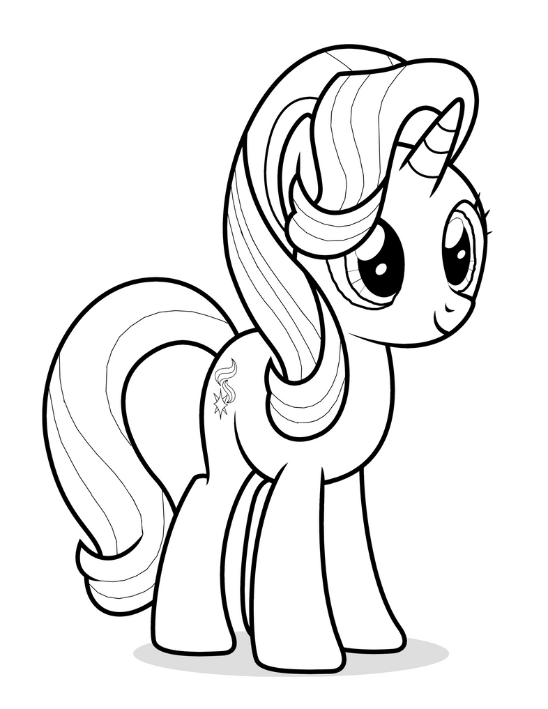 Starlight Glimmer Coloring Page by Mrowymowy on DeviantArt