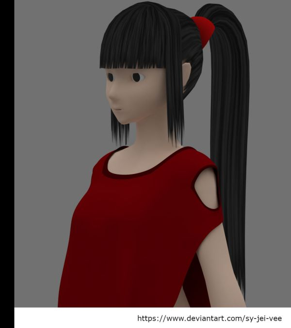 20 Mmd Straight Hair Pictures And Ideas On Weric