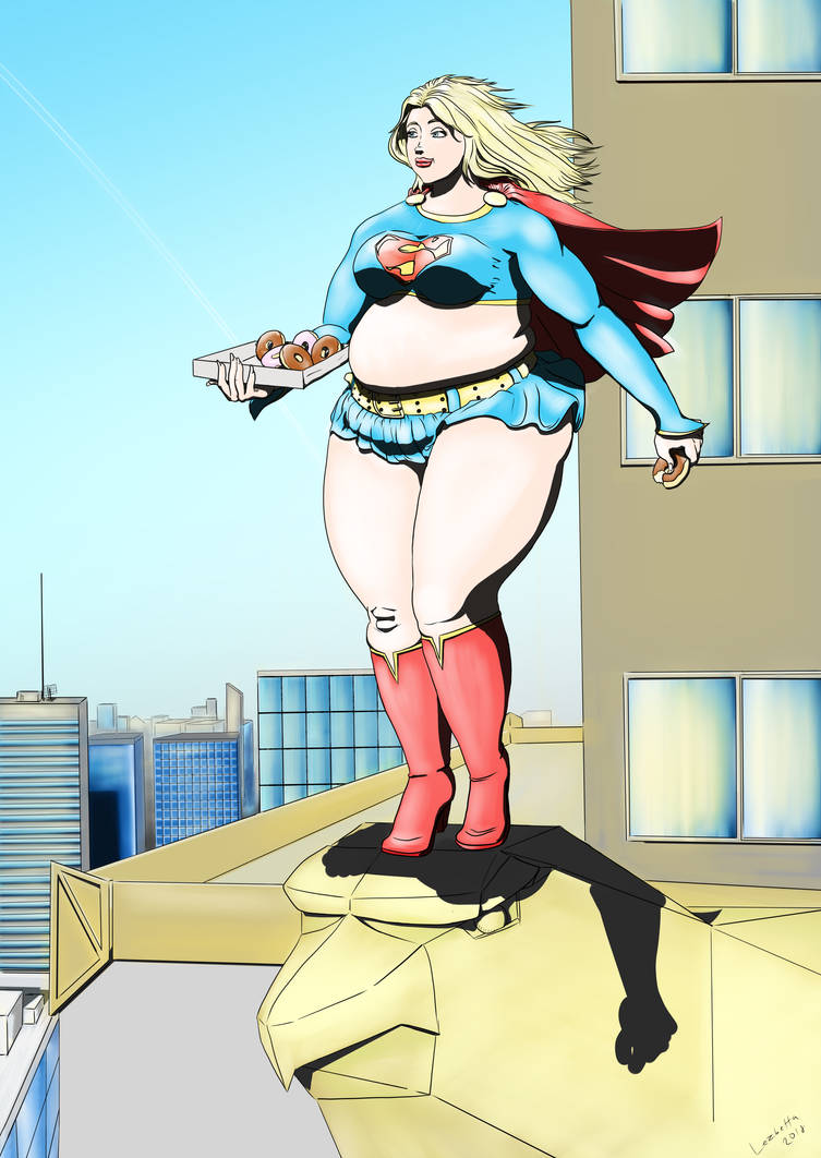 Boots Girl Wallpaper Fan Art Fat Super Girl By Lezbetta On Deviantart