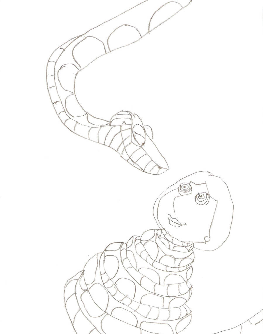 Lois and Kaa 4 AGAIN by Monster753 on DeviantArt