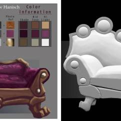Fainting Sofa Purple U Shaped With Chaise Concept To Model By Dudealan2001 On Deviantart