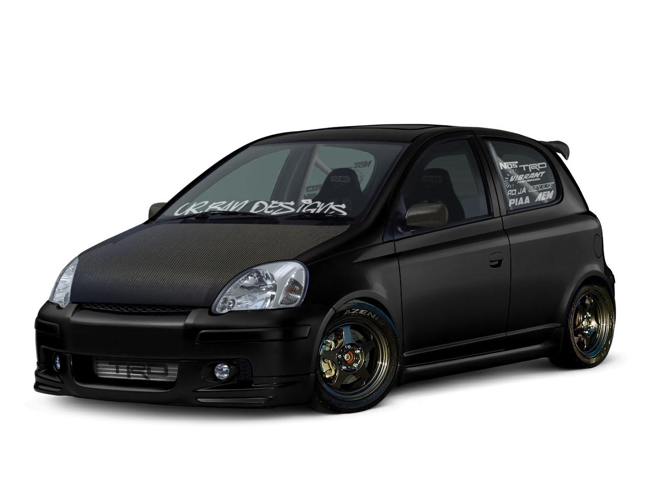 toyota yaris trd turbo sportivo m/t by urban designs on deviantart