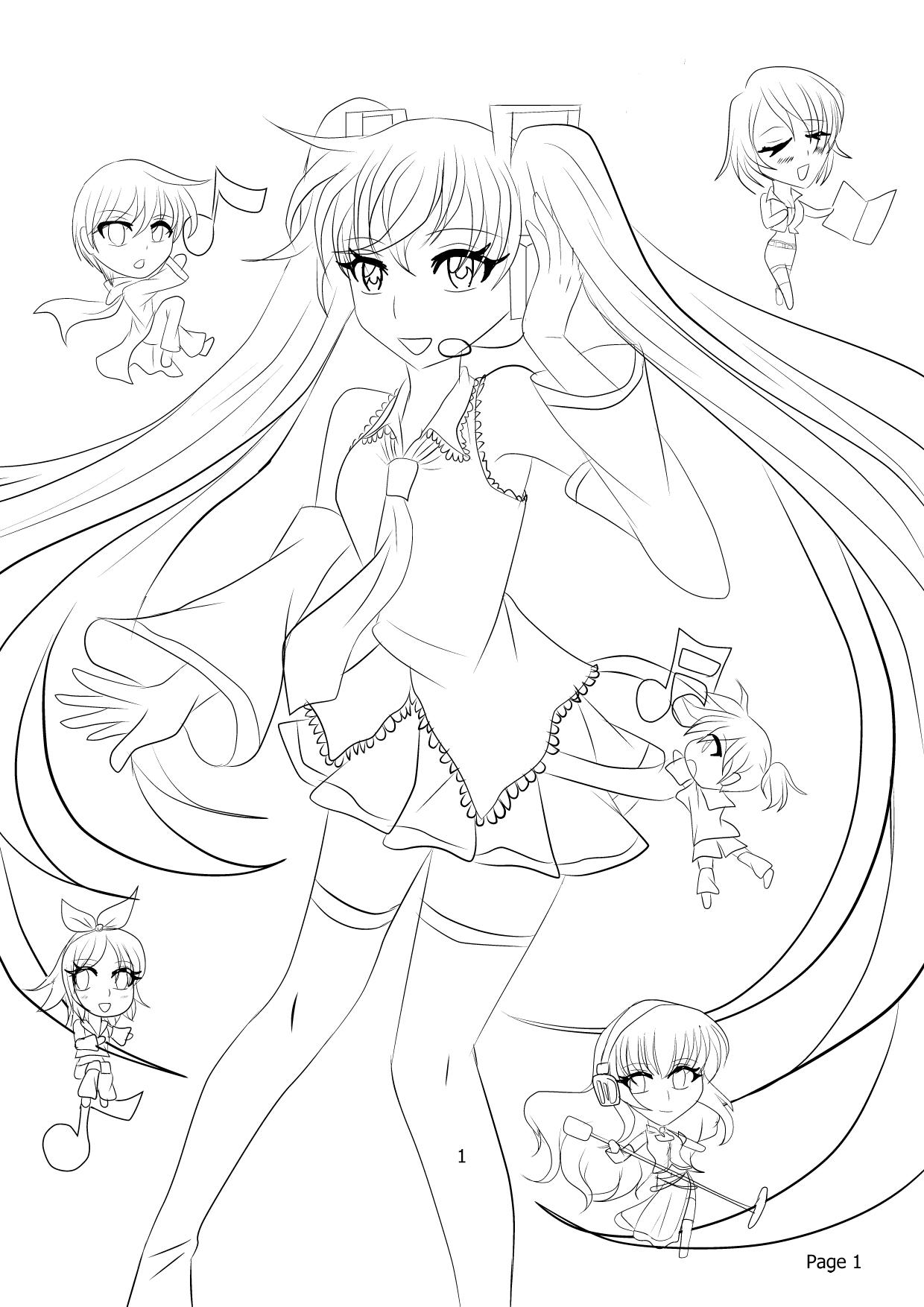 Vocaloid Luka Drawings Wiring Diagram Database