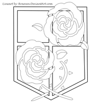 [Attack on Titan] Survey Corps Logo [*.AI file] by King-of
