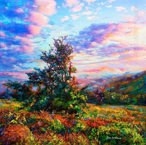 leon devenice original landscape
