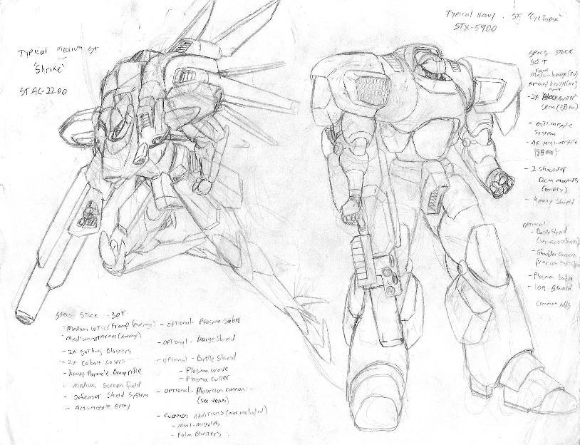 Shrike and Cyclops by AnimeFreak40K on DeviantArt