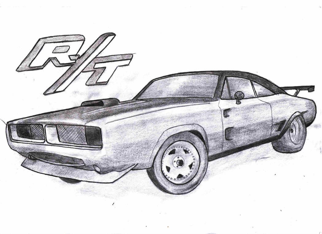 Dodge Charger RT 1969 by PizDexXx on DeviantArt