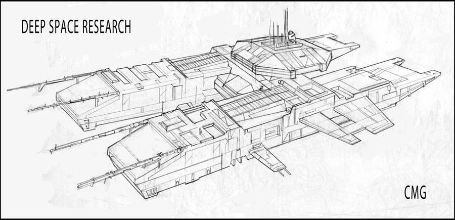 Deep Space Research Platform by MeckanicalMind on DeviantArt