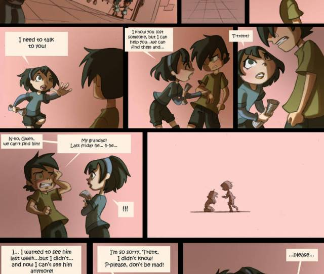 Total Drama Kids Comic Pag 43 By Kikaigaku