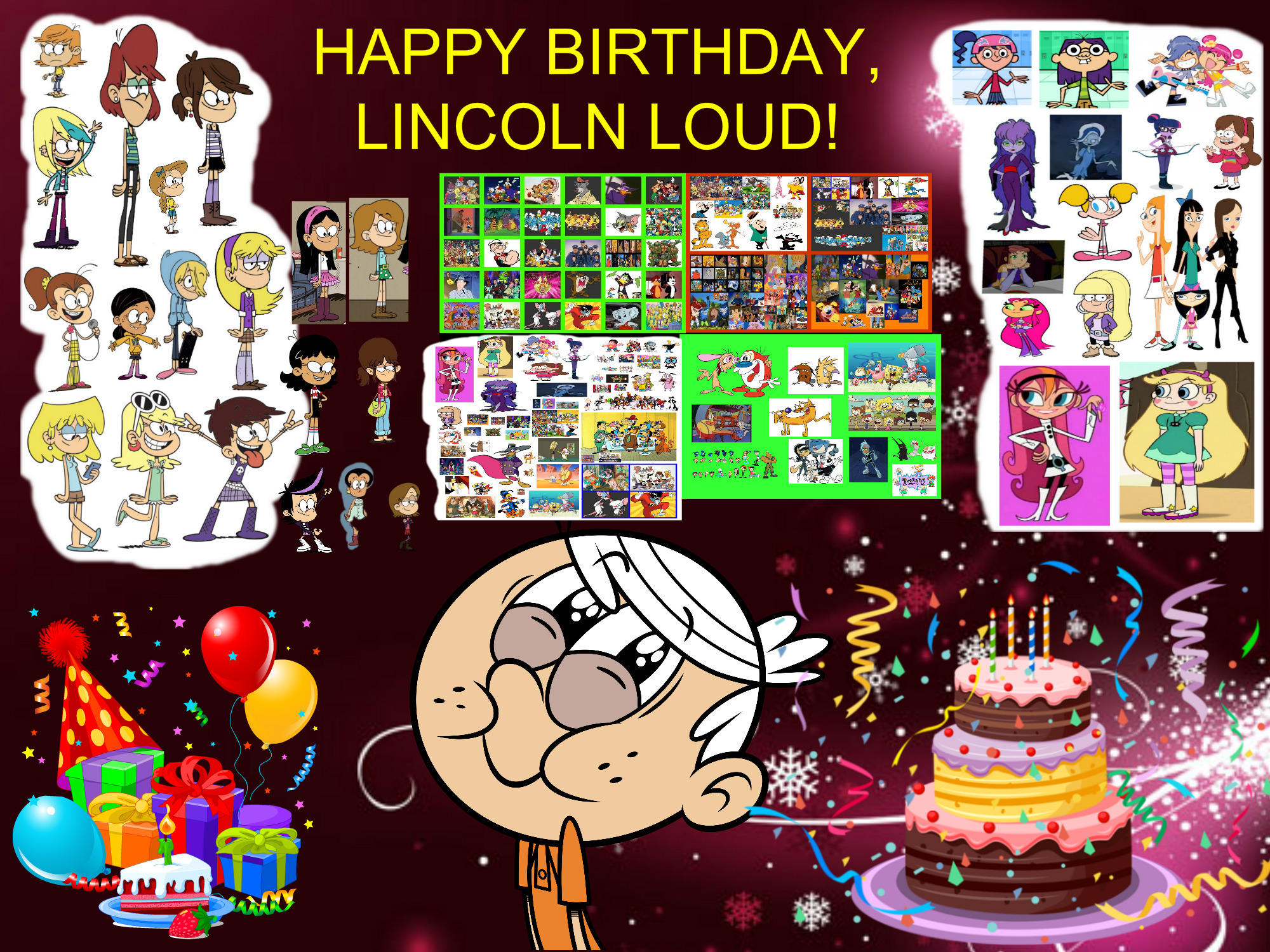 Happy Birthday Lincoln Loud By Bart Toons On