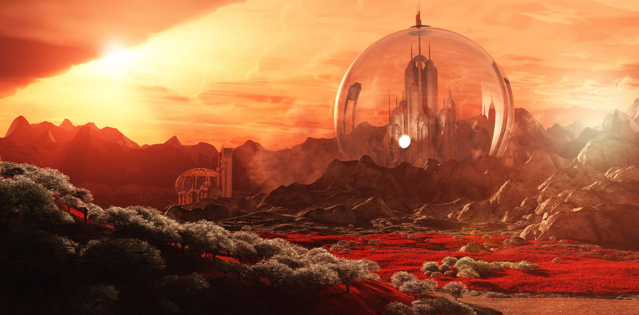 Gallifrey from Mount Perdition by Lupusdeusest on DeviantArt