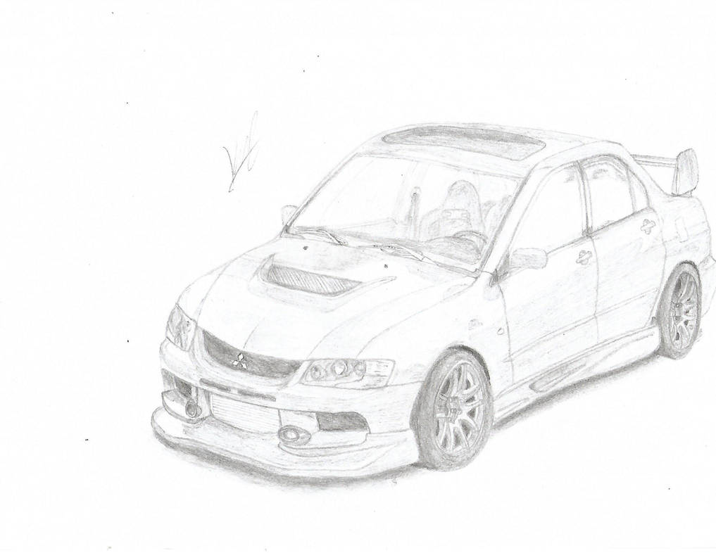 Mitsubishi Lancer Evolution IX by StDenJoCorp on DeviantArt