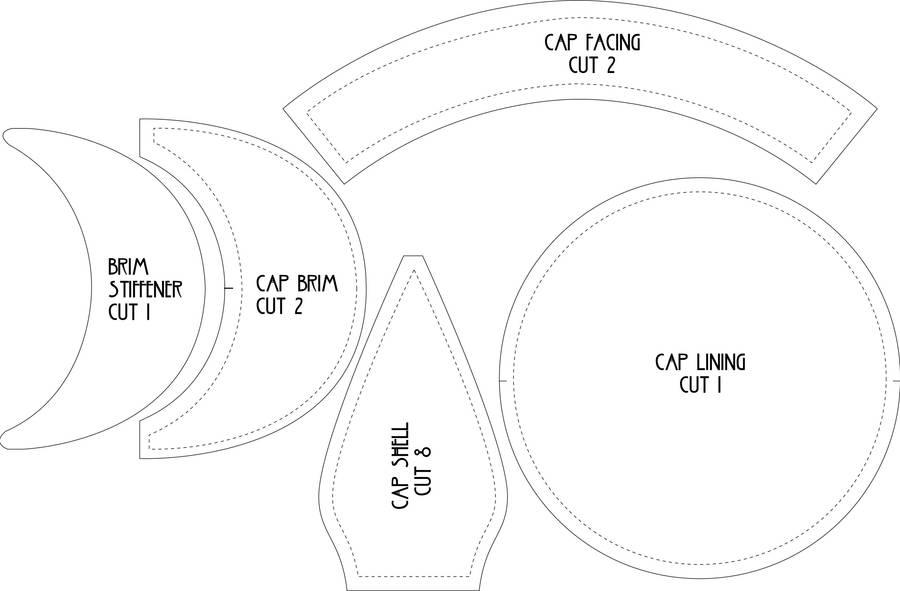 Flat Cap Pattern by Lastwear on DeviantArt