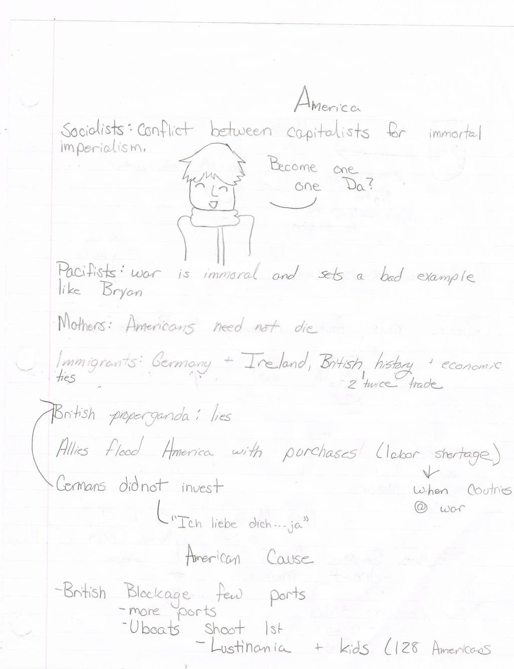 US History Notes 12 WWI page 5 by Fallen-Lilith on DeviantArt