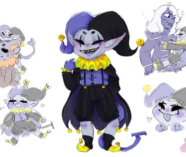 Jevil The Cute Asshole By Drragonette