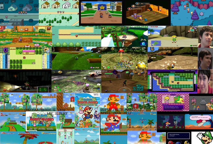 94 Paper Mario World A Great Paper Mario Online Flash