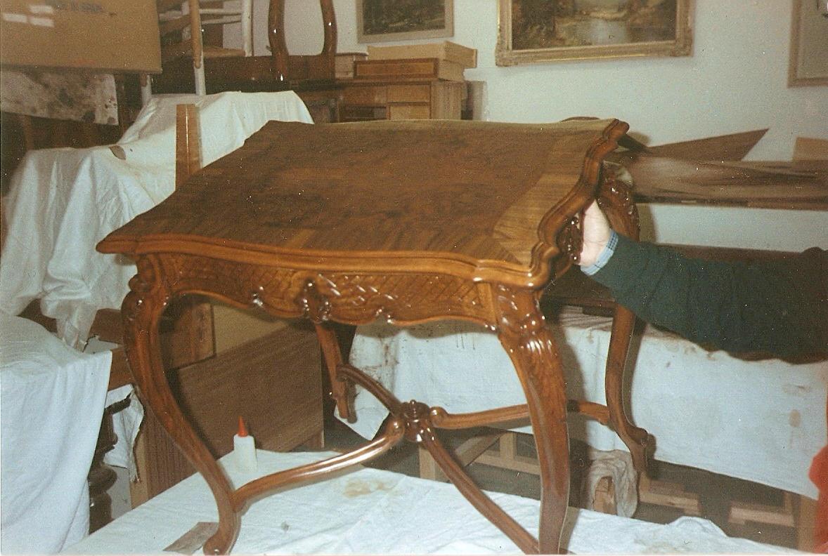 Antiquitäten & Kunst Barock Tisch Antik Stil Beistelltisch