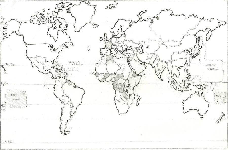 Earth Political Map in 2320 AD by EditorElohim on DeviantArt