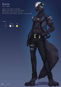 Dorian Wolf Black Playfurry Deviantart