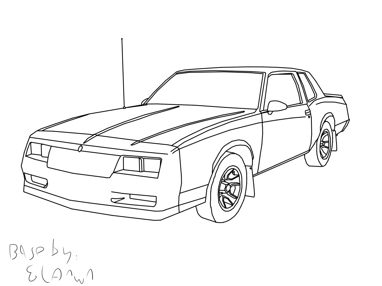 Chevrolet Monte Carlo Ss Base By Fraug Bases On