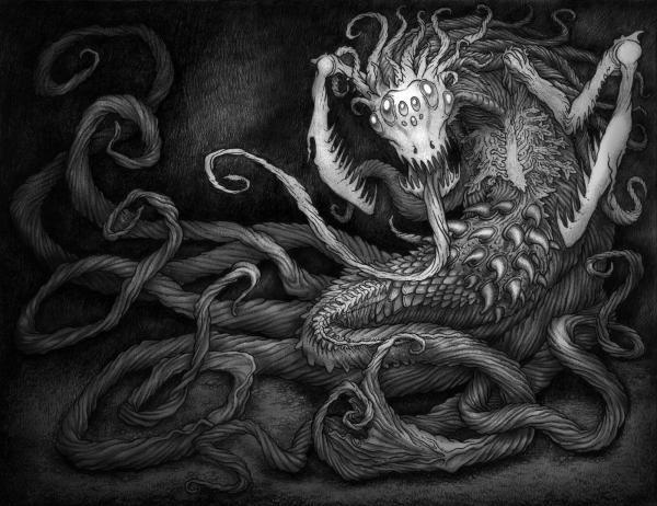 Gothic Horror Rode-egel Deviantart