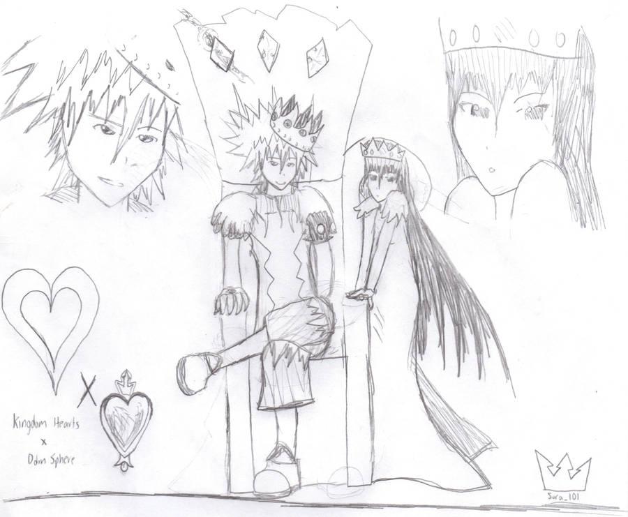 Sora 'The Fearless King' by Sora101Ven on DeviantArt