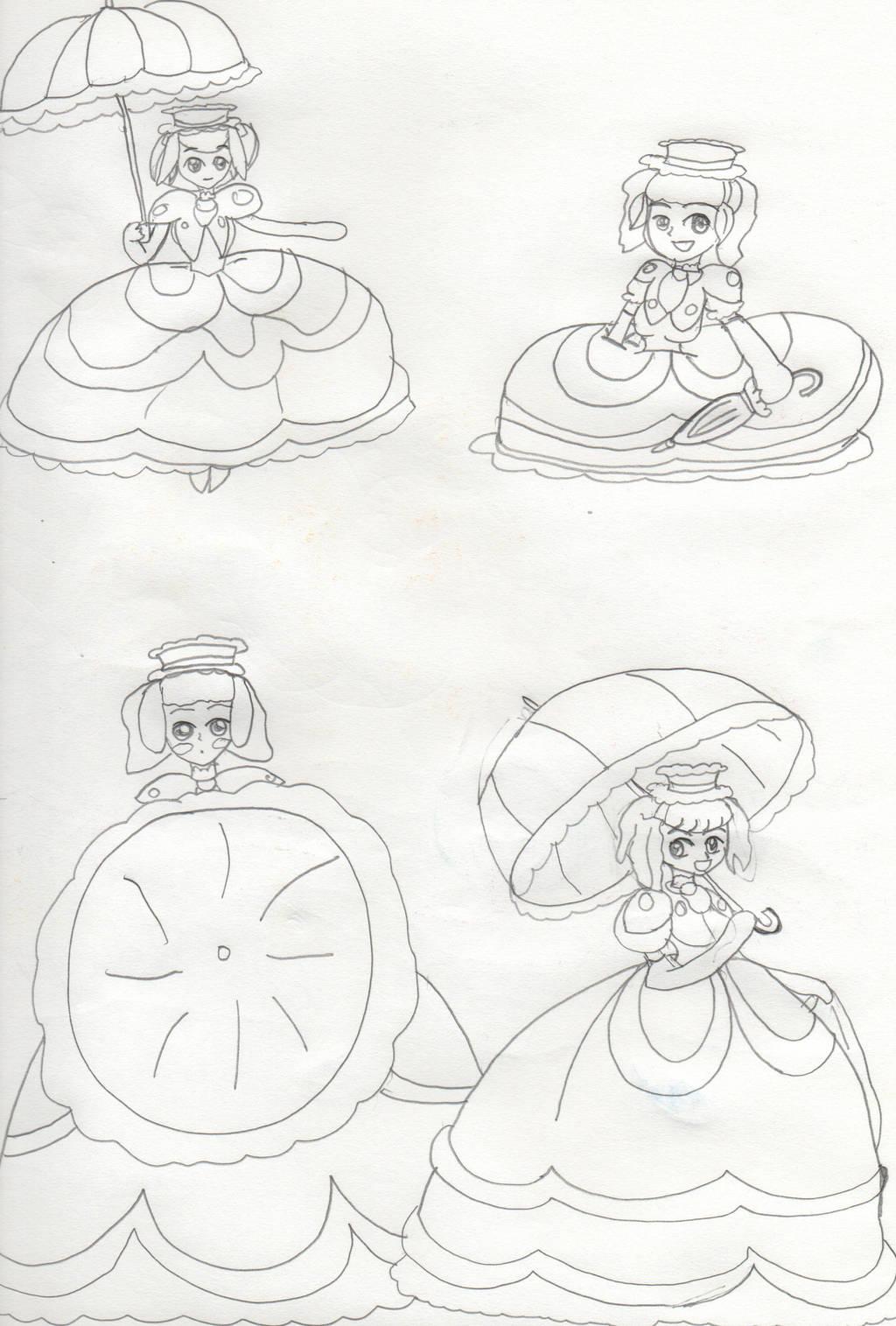 Julia Whitepearl Sketches by Aquateen510 on DeviantArt