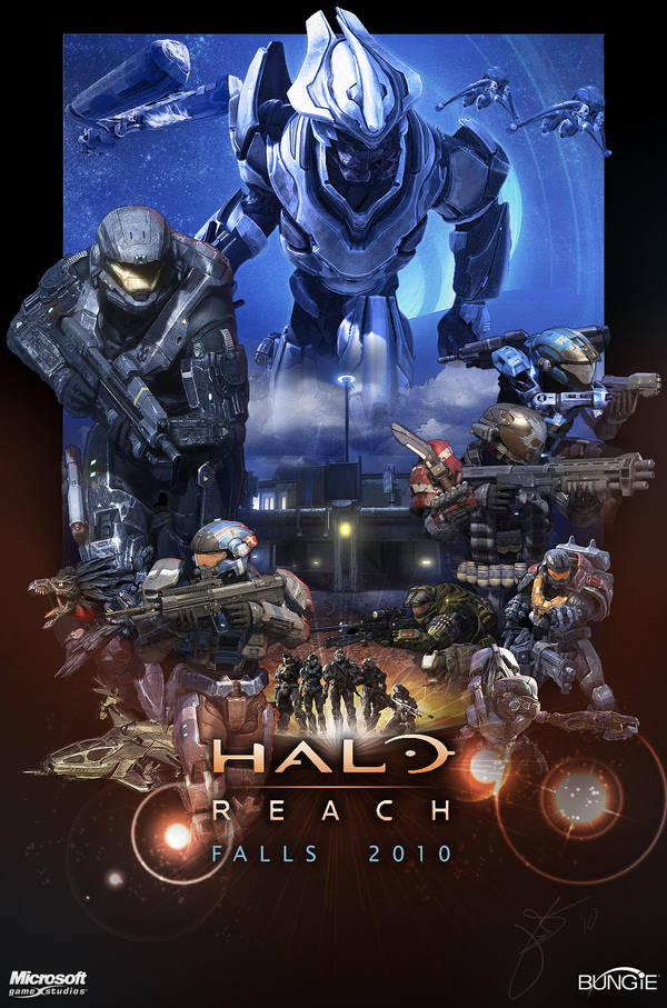 Fall Pictures Wallpaper Desktop Halo Reach Poster By Halcylon On Deviantart