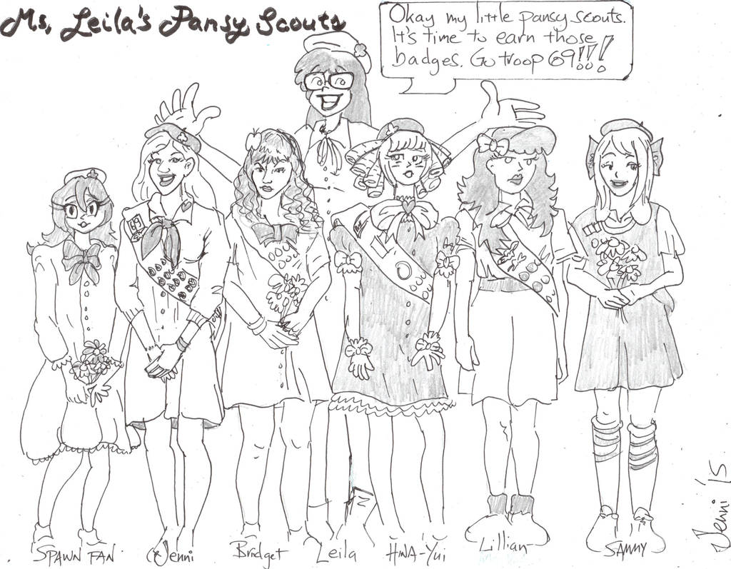 Pansy Scouts by Jenniandrews on DeviantArt