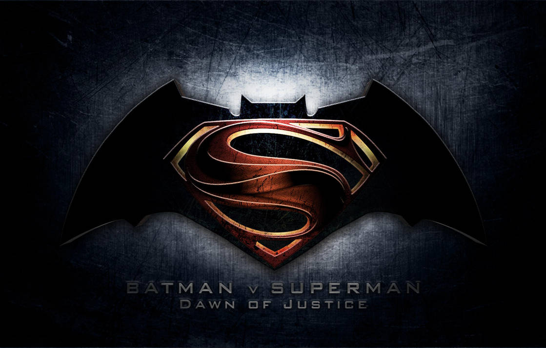 logo batman v superman