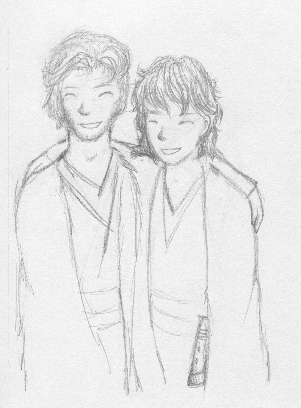 You were my brother-Obi-wan and Anakin by Bloodfox799 on