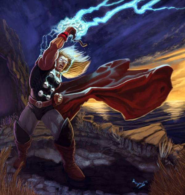 Mighty Thor Androsm Deviantart
