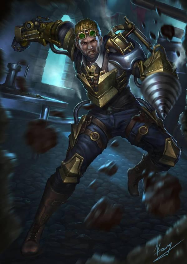 Steampunk Warrior Zeander Deviantart