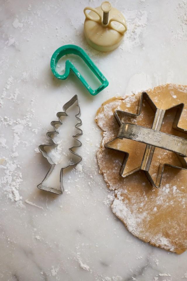 Simple Whole Wheat Sugar Cookies