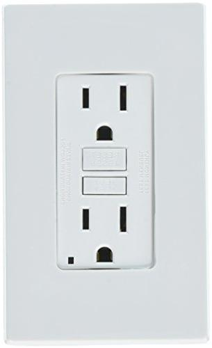 15a Wh Soft Gfci Outlet