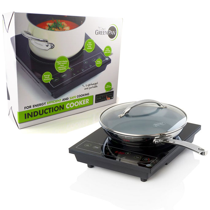 The Original Green Pan Induction Cooker - For Energy ...