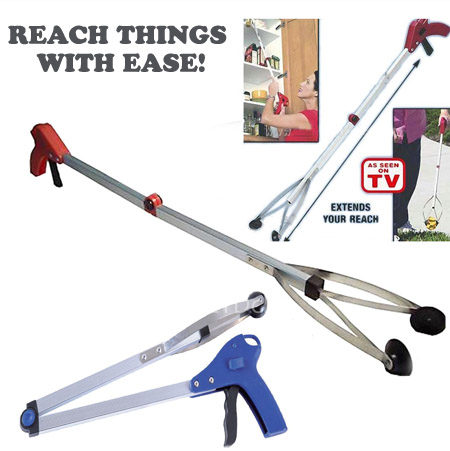 24 Inch Pick-Up and Reach Tool - Great to reach those things on the floor when you can't bend down, or up high when you can't reach it! - 13 Deals