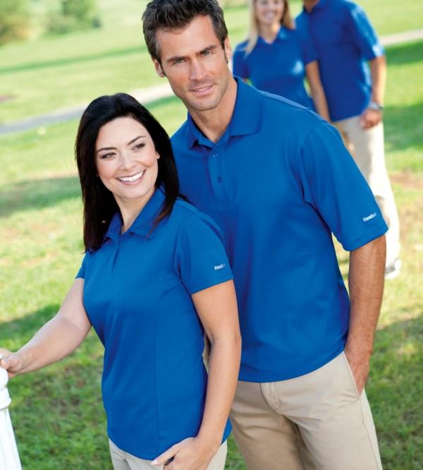 Men' Reebok Play Dry Polo Shirt - Ships Free 13 Deals