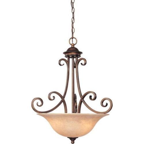 Dolan Lighting  2094133  Medici  Three Light Bowl Pendant