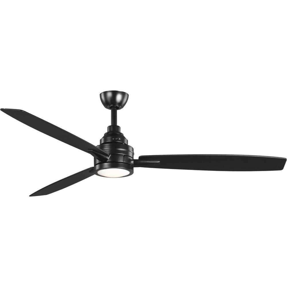 gaze 60 inch wide ceiling fan 1 light handheld remote