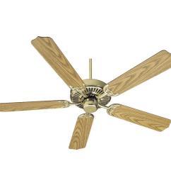 quorum lighting 77525 2 capri 52 ceiling fan tap to expand [ 1000 x 1000 Pixel ]