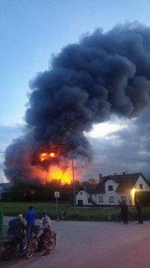 Požar na Vrhniki