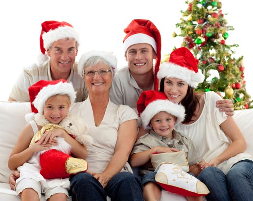 Božična družina