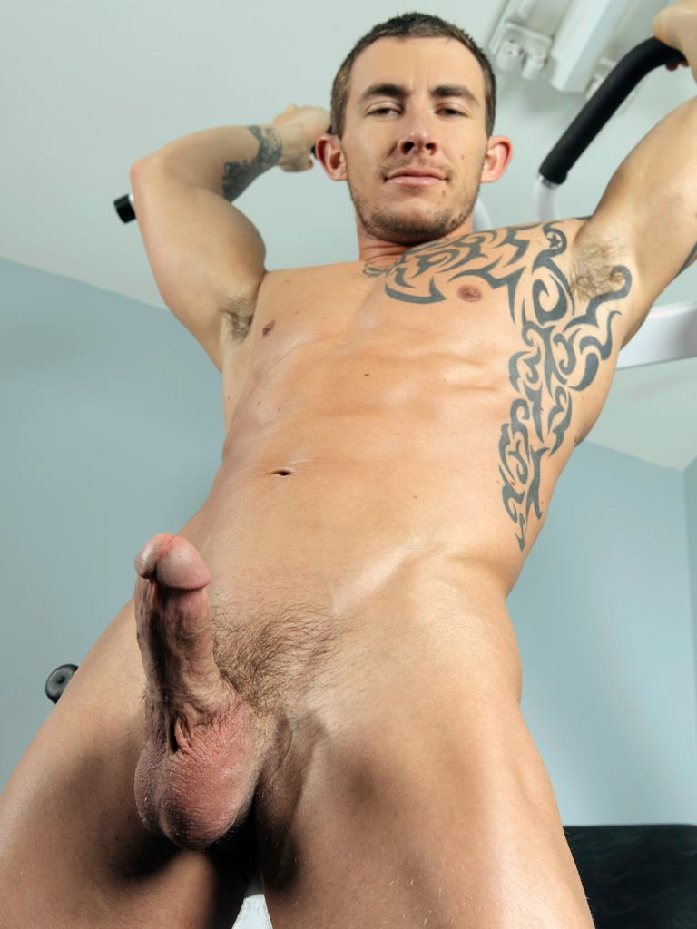 Danny Harper and Richard Pierce have a hot horny hardcore jock fuck in the Randy Blue Gym
