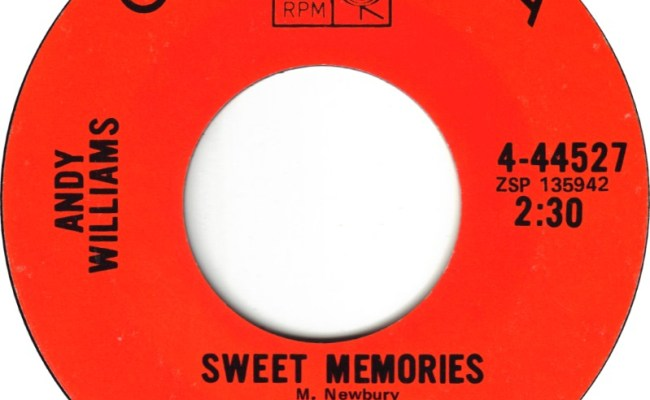 45cat Andy Williams Sweet Memories You Are Where Everything Is Columbia Usa 4 44527
