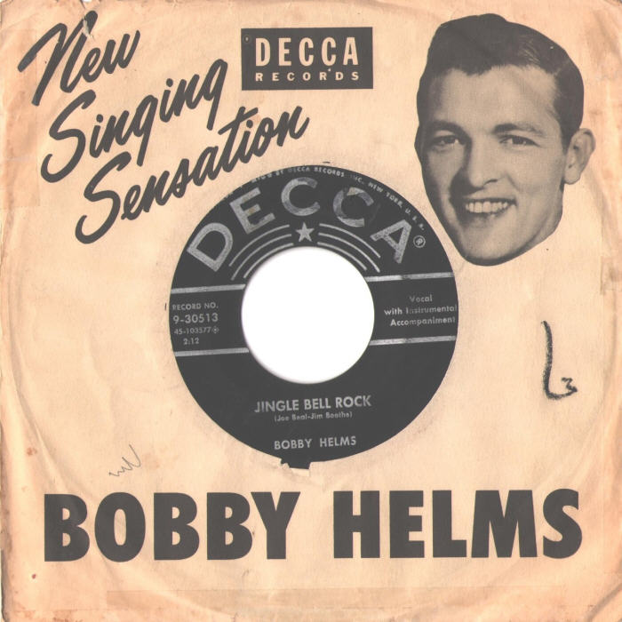 45cat  Bobby Helms  Jingle Bell Rock  Captain Santa