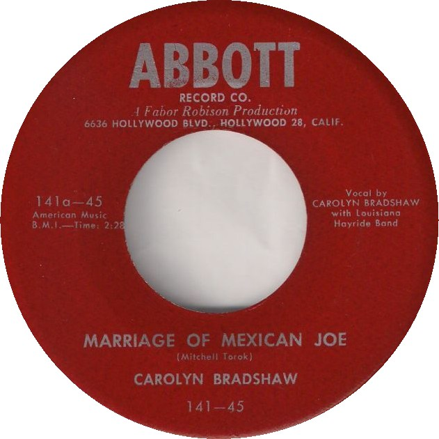 Image result for carolyn bradshaw the marriage of mexican joe