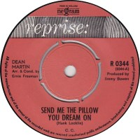45cat - Dean Martin - Send Me The Pillow You Dream On / I ...