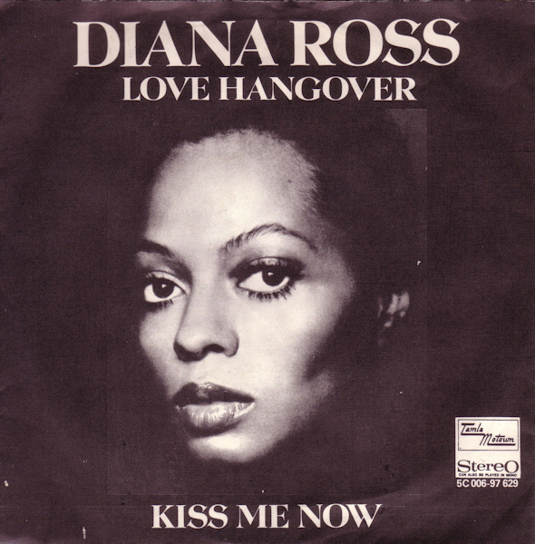 Image result for diana ross love hangover single images
